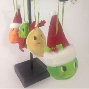 Fun fruit holiday decorations tree ornaments